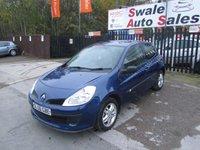 2006 RENAULT CLIO 1.1 EXTREME 16V 75 BHP £1695.00