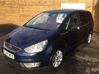 USED 2009 09 FORD GALAXY 2.0 GHIA TDCI 5d AUTO 140 BHP