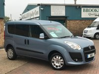 2013 FIAT DOBLO 1.4 MYLIFE Hillbilly Blue Metallic Wheelchair Ramp 5d 95 BHP £6995.00