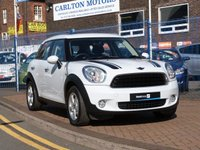 2012 MINI COUNTRYMAN 1.6 ONE 5d  £7995.00