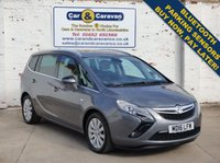 USED 2016 16 VAUXHALL ZAFIRA TOURER 1.6 TECH LINE CDTI ECOFLEX S/S 5d 134 BHP Vauxhall History Huge Spec NAV Buy Now, Pay in 2 Months!