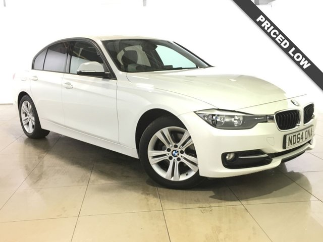 View our 2014 64 BMW 3 SERIES 2.0 320D SPORT 4d AUTO 184 BHP