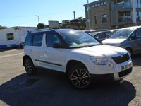 2013 SKODA YETI 2.0 ADVENTURE TDI CR 5d 109 BHP £8995.00
