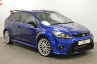 USED 2009 09 FORD FOCUS 2.5 RS 3d 300 BHP [NAV] 'LUX PACK 2' ONLY 12,000 MILES + SAT NAV + SERVICE HISTORY + PARK CAMERA