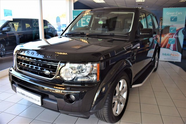 2013 63 LAND ROVER DISCOVERY 4 3.0 4 SDV6 HSE 5d AUTO 255 BHP NEW MODEL COMMAND SHIFT REAR DVDS