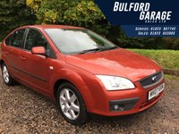 USED 2007 07 FORD FOCUS 1.6 SPORT 16V 5d AUTO 101 BHP