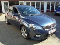 2011 KIA CEED 1.6 3 5d 124 BHP £SOLD