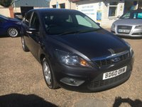 USED 2011 60 FORD FOCUS 1.8 ZETEC 5d 125 BHP EXCELLENT LOW MILEAGE / PRIVACY GLASS