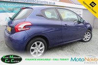 USED 2015 15 PEUGEOT 208 1.0 ACTIVE 3d 68 BHP PETROL BLUE SERVICE HISTORY + £20 PER YEAR TO TAX