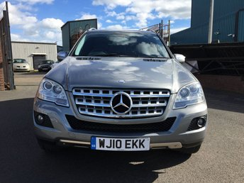 2010 MERCEDES-BENZ M CLASS 3.0 ML300 CDI BLUEEFFICIENCY SPORT 5d AUTO 204 BHP £12995.00