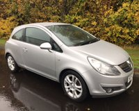 USED 2008 57 VAUXHALL CORSA 1.2 SXI A/C 16V 3d 80 BHP 6 MONTHS PARTS+ LABOUR WARRANTY+AA COVER