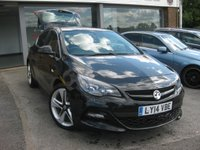 2014 VAUXHALL ASTRA 1.4 LIMITED EDITION 5d 140 BHP £7995.00
