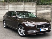 USED 2017 17 VOLVO V90 2.0 D4 INSCRIPTION 5d AUTO 188 BHP 1 OWNER/LOW MILES/SAT NAV/PDC