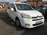 USED 2012 62 CITROEN BERLINGO 1.6 MULTISPACE AIRDREAM VTR EGS E-HDI 5d AUTO 91 BHP AUTOMATIC,CHEAP TO RUN, LOW CO2 EMISSIONS(125G/KM) , LOW ROAD TAX AND EXCELLENT FUEL ECONOMY!..GOOD SPECIFICATION INCLUDING AIR CONDITIONING, CRUISE CONTROL AND AUXILLIARY INPUT!.. ONLY 12538 MILES AND FULL HISTORY!