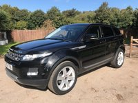 2012 LAND ROVER RANGE ROVER EVOQUE 2.2 SD4 PURE TECH 5d AUTO 190 BHP £SOLD