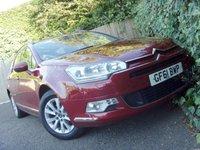2011 CITROEN C5 1.6 VTR PLUS NAV E-HDI 5d AUTO 110 BHP £4499.00