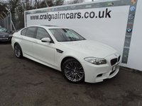 2012 BMW 5 SERIES 4.4 M5 4d AUTO 553 BHP £31995.00