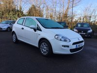 USED 2015 65 FIAT PUNTO 1.2 POP PLUS 3d WITH AIR CONDITIONING AND BLUETOOTH  NO DEPOSIT  PCP/HP FINANCE ARRANGED, APPLY HERE NOW
