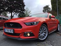 USED 2017 17 FORD MUSTANG 5.0 GT 2d AUTO 410BHP 1OWNER+FSH+2KEYS+TOP SPEC+DAB+