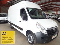 """USED 2015 65 VAUXHALL MOVANO 2.3 R3500 L3H3 P/V CDTI  125 BHP-**LWB WITH HI ROOF**  """"YOU'RE IN SAFE HANDS"""" - AA DEALER PROMISE"""