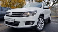 USED 2014 VOLKSWAGEN TIGUAN 2.0 MATCH TDI BLUEMOTION TECH 5d 139BHP 2KEYS+FSH4STAMPS+SATNAV+MEDIA+