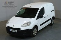 USED 2014 64 PEUGEOT PARTNER 1.6 HDI PROFESSIONAL L1 850 90 BHP SWB AIR CON VAN ONE OWNER FULL S/H SPARE KEY