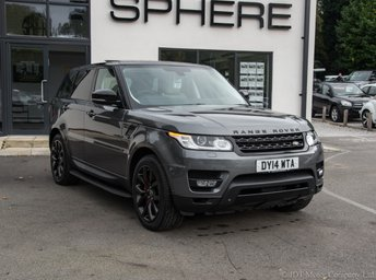 2014 LAND ROVER RANGE ROVER SPORT 4.4 AUTOBIOGRAPHY DYNAMIC 5d AUTO 339 BHP SOLD TO ZOE £SOLD