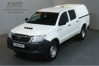 USED 2014 64 TOYOTA HI-LUX 2.5 ACTIVE 4X4 D-4D DCB 142 BHP AIR CON PICK UP £8,990+VAT AIR CONDITIONING