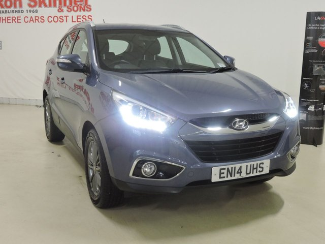 View our 2014 14 HYUNDAI IX35 1.7 SE CRDI 5d 114 BHP
