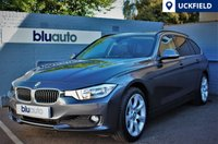 USED 2015 15 BMW 3 SERIES 2.0 320D LUXURY TOURING 5d AUTO 181 BHP Huge Spec... Leather, Navigation, Heated Seats, Advanced Parking...1 Owner (plus Demo)...FSH..