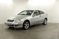 2004 MERCEDES-BENZ C CLASS 1.8 C180 KOMPRESSOR SE SPORTS 3d 141 BHP £2894.00