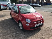 USED 2013 63 FIAT 500 1.2 POP 3d 69 BHP ONLY 15,000 MILES-£30 ROAD TAX-MAIN DEALER SERVICE HISTORY