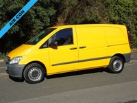 2014 MERCEDES-BENZ VITO 113 2.1CDI 136 BHP SWB LOW ROOF PANEL VAN £4995.00
