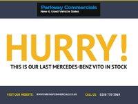 USED 2014 14 MERCEDES-BENZ VITO 113 2.1CDI 136 BHP SWB LOW ROOF PANEL VAN +AIR-CON+C/CONTROL+TWIN DOORS+