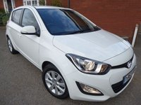 2013 HYUNDAI I20 1.2 ACTIVE 5d 84 BHP A/C & Tinted Glass £5780.00