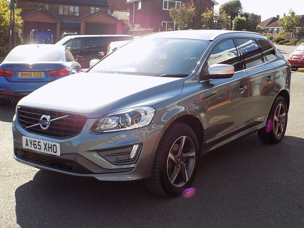 USED 2015 65 VOLVO XC60 2.0 D4 R-DESIGN LUX 5dr (190)  ** Winter Pack + Leather **