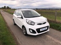USED 2012 62 KIA PICANTO 1.0 1 5d 68 BHP No Road Tax!