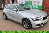 USED 2013 63 BMW 1 SERIES 2.0 116D SPORT 3d 114 BHP +ONE OWNER +LOW TAX BAND +FSH.