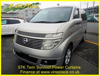 USED 2002 52 NISSAN ELGRAND 3.5 XL 7 Seats, Leather, Twin Sunroof, Reverse Camera 57+TWIN SUNROOFS+POWER CURTAIN