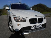 2010 BMW X1 2.0 XDRIVE20D SE 5d AUTO 174 BHP ** DIESEL , AUTOMATIC, 4X4 , FULL RED LEATHER , LOW ROAD TAX , OUTSTANDING VEHICLE ** £8995.00