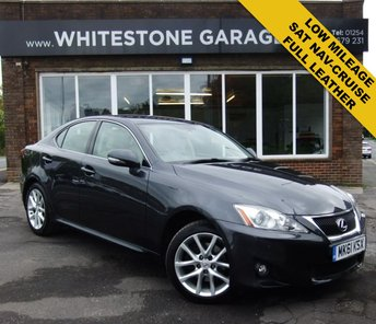 2011 LEXUS IS 2.2 200D ADVANCE 4d 148 BHP £7995.00