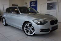 2012 BMW 1 SERIES 2.0 120D SPORT 2d 175 BHP £7995.00