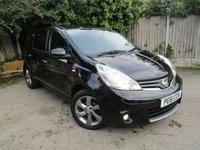 2011 NISSAN NOTE 1.4 N-TEC 5d 87 BHP £4395.00