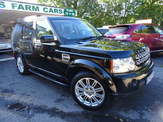 2010 60 LAND ROVER DISCOVERY 3.0 4 TDV6 HSE 5d 7 SEATER AUTOMATIC 4x4 245 BHP FOUR WHEEL DRIVE