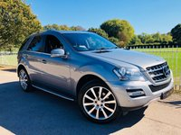 2011 MERCEDES-BENZ M CLASS 3.0 ML350 CDI BLUEEFFICIENCY GRAND EDITION 5d AUTO 231 BHP £15000.00