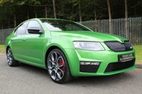 USED 2016 66 SKODA OCTAVIA 2.0 VRS TSI 5d 217 BHP A GORGEOUS VRS WHICH IS CURRENTLY THE CHEAPEST RALLYE GREEN ONE WE CAN FIND!!!