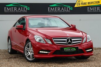 2013 MERCEDES-BENZ E CLASS 2.1 E220 CDI BLUEEFFICIENCY SPORT 2d AUTO 170 BHP £12000.00