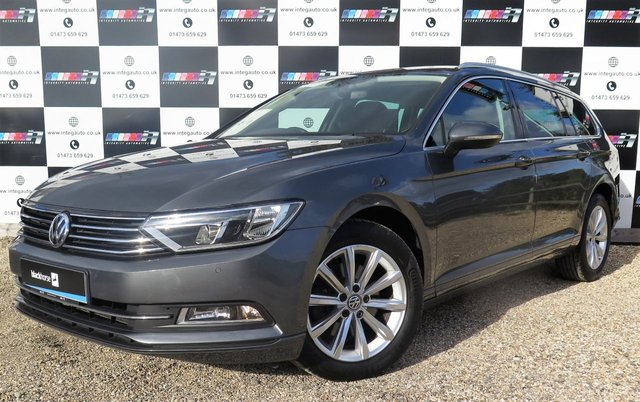 2015 65 VOLKSWAGEN PASSAT 2.0 SE BUSINESS TDI BLUEMOTION TECH DSG 5d AUTO 148 BHP