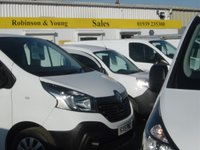 USED 2015 65 RENAULT TRAFIC 1.6 SL29 BUSINESS DCI S/R P/V 1d 115 BHP