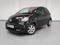 USED 2014 14 TOYOTA AYGO 1.0 VVT-I MOVE WITH STYLE 5 Door And Sat Nav One Owner From New + Full Service History + 12 Month MOT + Nationwide Warranty + Sat Nav